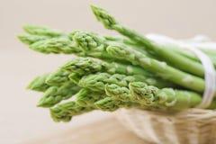 Świeży zielony asparagus Zdjęcie Royalty Free