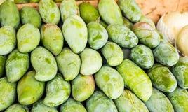 świeży zielony mango Fotografia Royalty Free