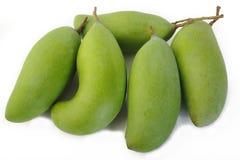 świeży zielony mango Fotografia Stock