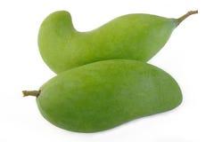 świeży zielony mango Obraz Stock