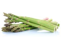 Świeży zielony szparagowy warzywo odizolowywający Fotografia Royalty Free