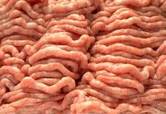 świeży zmielony mięso Zdjęcia Stock
