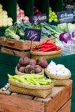 świeżych owoc organicznie warzywa Zdjęcia Stock