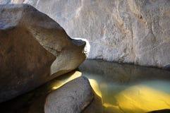 Świecąca laguna Obraz Royalty Free