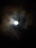 Świecący księżyc w pełni Zdjęcia Royalty Free