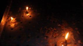 świece zdjęcie wideo