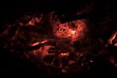świecić węgla Obrazy Stock