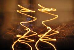 świeczek światła Fotografia Royalty Free
