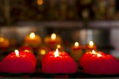 Świeczek światła Obrazy Royalty Free