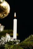 świeczek balowi boże narodzenia zdjęcia royalty free