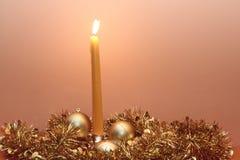 świeczek boże narodzenia Zdjęcia Royalty Free