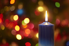 świeczek boże narodzenia Zdjęcia Stock