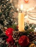 świeczek boże narodzenia Fotografia Stock