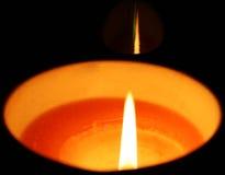 świeczka ogień Obrazy Stock