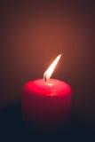 Świeczka ogień Obraz Royalty Free