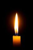 świeczka płomień Obrazy Royalty Free