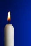 świeczka płomień Fotografia Stock