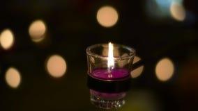 Świeczka pali pokojowo zbiory