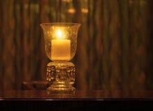 Świeczka właściciel Zdjęcia Royalty Free