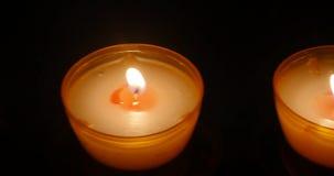 Świeczka w Cathedrale Notre-Dame Strasburg, zbiory wideo