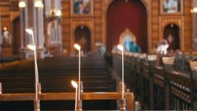 Świeczka w kościół chrześcijańskim zbiory