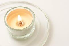 świeczka zaświecająca Fotografia Stock