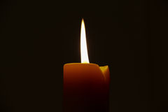 Świeczka zmroku światła tło 499 Obraz Stock