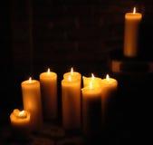 świeczki światło Fotografia Stock
