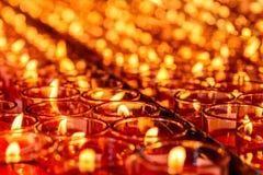Świeczki światło Obrazy Stock