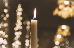 Świeczki światło Zdjęcie Royalty Free