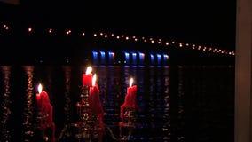 Świeczki, świeczka, płomień zdjęcie wideo