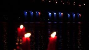 Świeczki, świeczka, płomień 2 zdjęcie wideo