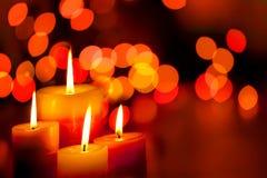 świeczki Fotografia Stock