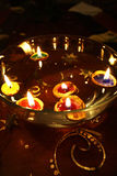 świeczki boże narodzenie Zdjęcie Stock