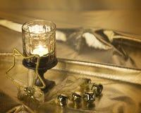 świeczki bożych narodzeń rocznik Obrazy Royalty Free