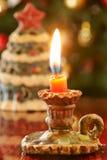 świeczki bożych narodzeń wieśniak mały Obraz Stock