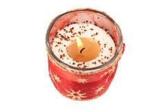 świeczki czerwień Fotografia Stock