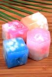 świeczki dekoracyjnych wosk Obraz Stock