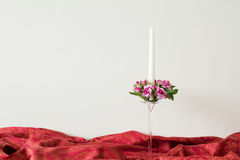 Świeczki dla wewnętrznego projekta Zdjęcia Stock