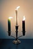 Świeczki dmuchać Zdjęcia Stock
