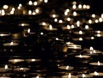 świeczki kościelne Obrazy Royalty Free