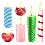 świeczki ustawiać royalty ilustracja