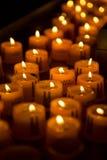 Świeczki w kościół Fotografia Stock