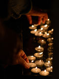 Świeczki w kościół 2 Obraz Stock