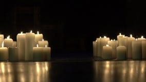 Świeczki zaświecają up mnie ciemność swobodny ruch zbiory
