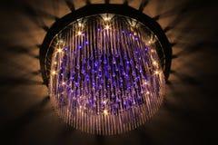 Świeczników światła Zdjęcie Stock