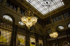 Świecznik Paryż zdjęcia royalty free