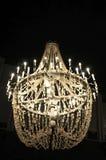 świecznika kryształów sól Fotografia Royalty Free