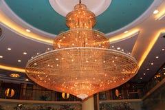 świecznika kryształ Fotografia Royalty Free