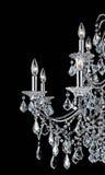 świecznika kryształ Zdjęcia Royalty Free